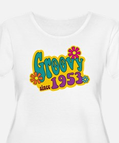 Groovy Since 1953 Plus Size T-Shirt
