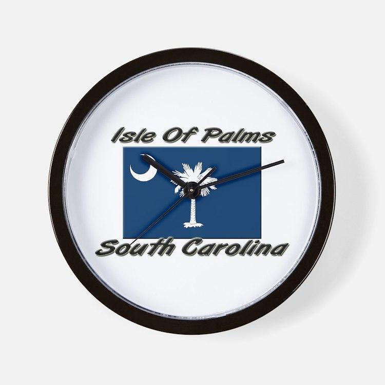 Isle Of Palms South Carolina Wall Clock