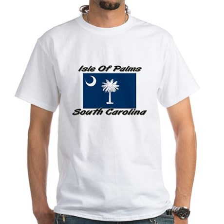 Isle Of Palms South Carolina White T-Shirt