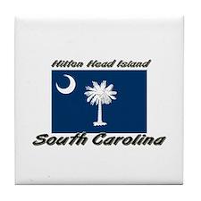 Hilton Head Island South Carolina Tile Coaster
