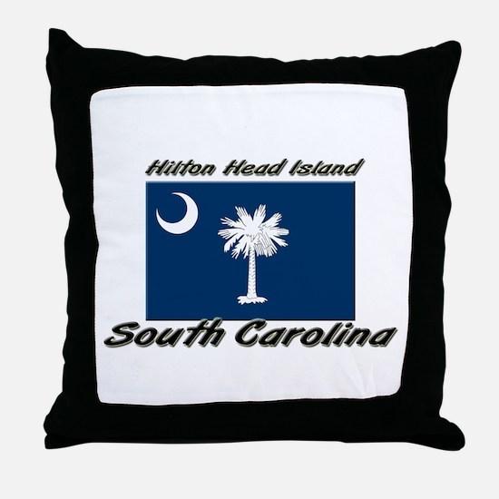 Hilton Head Island South Carolina Throw Pillow