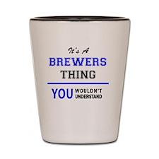 Cool Brewer Shot Glass