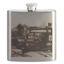 Steampunk Sewing Flask