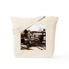 Steampunk Sewing Tote Bag