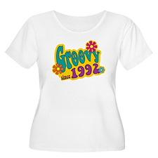 Groovy Since 1992 Plus Size T-Shirt