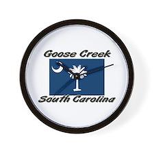 Goose Creek South Carolina Wall Clock