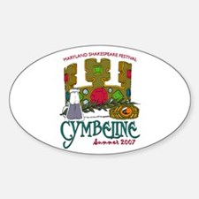 MSF Cymbeline Oval Decal