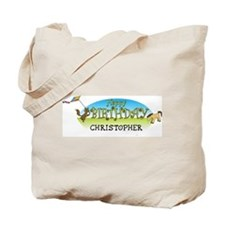 Happy B-Day Christopher (farm Tote Bag