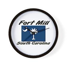 Fort Mill South Carolina Wall Clock