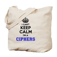 Cool Cipher Tote Bag