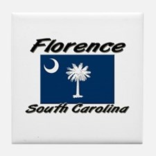 Florence South Carolina Tile Coaster