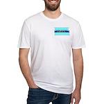 True Blue North Dakota LIBERAL Fitted T-Shirt