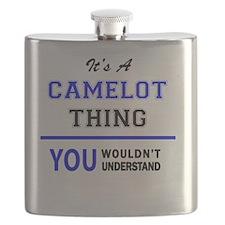 Cute Camelot Flask