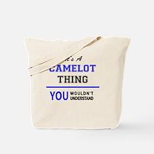 Cute Camelot Tote Bag