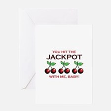 Jackpot Greeting Cards