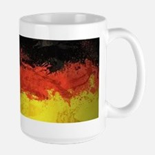 Artsy German Flag Large Mug