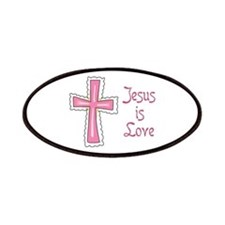 Jesus Is Love Patches