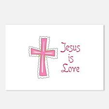 Jesus Is Love Postcards (Package of 8)
