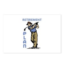 Retirement Plan Postcards (Package of 8)