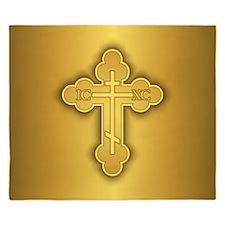 Orthodox Cross King Duvet