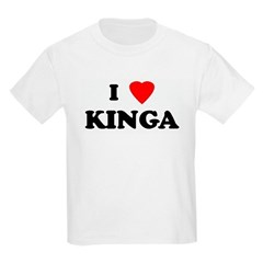I Love KINGA T-Shirt