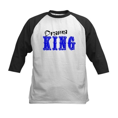 Drama King Kids Baseball Jersey