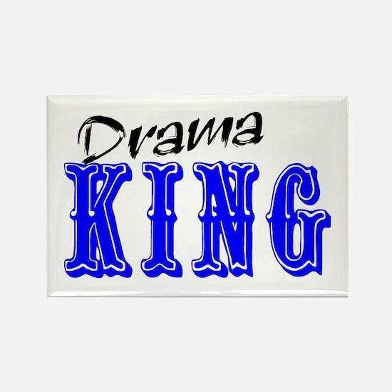 Drama King Rectangle Magnet