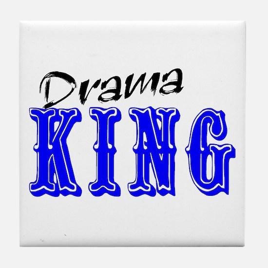 Drama King Tile Coaster