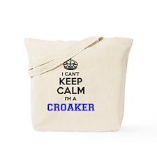 Unique Croaker Tote Bag