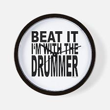 Beat It Wall Clock