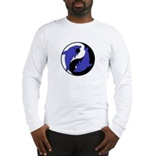 Yin Yang Dolphins 2 Long Sleeve T-Shirt