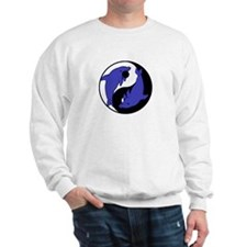 Yin Yang Dolphins 2 Sweatshirt