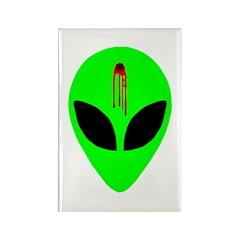Dead Alien Rectangle Magnet (100 pack)