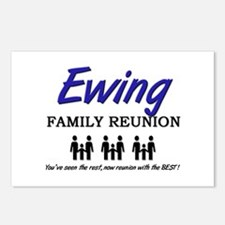 Ewing Family Reunion Postcards (Package of 8)