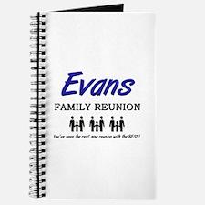 Evans Family Reunion Journal