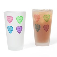 Funny Anti valentines Drinking Glass