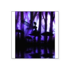 """Cute Enchanting fairies Square Sticker 3"""" x 3"""""""