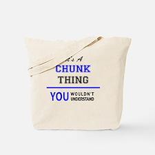 Cool Chunk Tote Bag