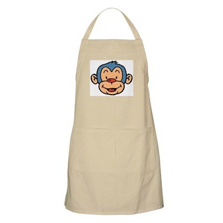 Blue Monkey BBQ Apron