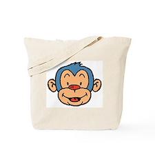 Blue Monkey Tote Bag