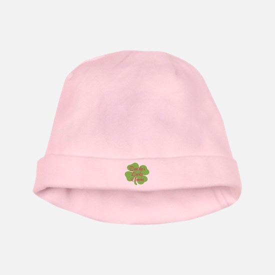 Pink Daddy's Lucky Charm baby hat