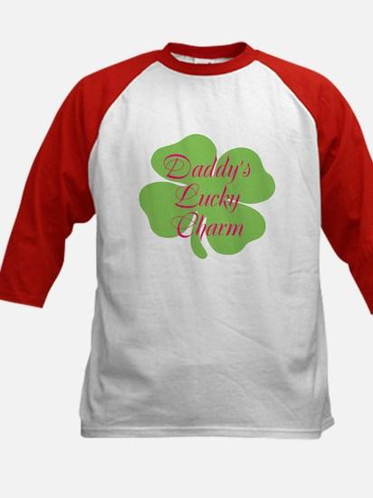 Pink Daddy's Lucky Charm Kids Baseball Jersey