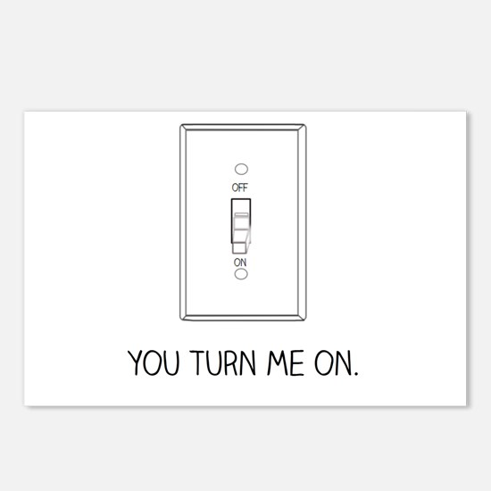 You Turn Me On Postcards (Package of 8)