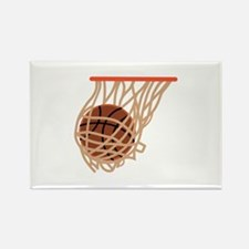 BASKETBALL IN NET Magnets