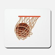 BASKETBALL IN NET Mousepad
