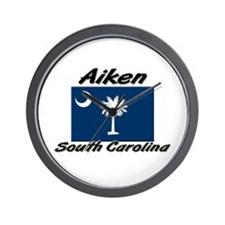 Aiken South Carolina Wall Clock