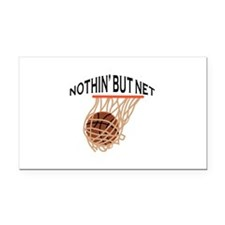 NOTHING BUT NET Rectangle Car Magnet