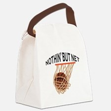 NOTHING BUT NET Canvas Lunch Bag