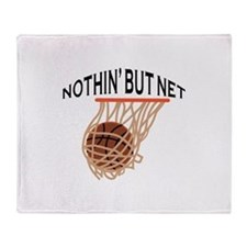 NOTHING BUT NET Throw Blanket