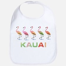 March of the Tropical Flamingos KAUAI Bib